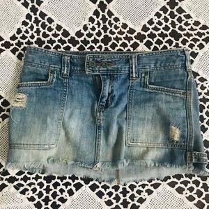 Abercrombie & Fitch Denim Skirt (2)